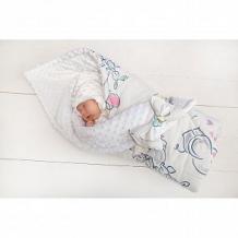 Купить slingme конверт-одеяло полянка 90 х 90 см, цвет: белый ( id 12797866 )