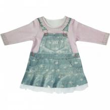 Купить папитто платье с длинным рукавом fashion jeans 577-07 577-07