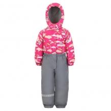 Купить lappi kids комбинезон утепленный, цвет: розовый ( id 3349451 )