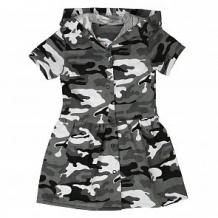 Купить платье грачонок, цвет: серый ( id 12660508 )
