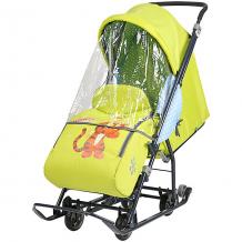 """Купить санки-коляска ника детям """"baby 1"""" тигруля лимонный 10406874"""