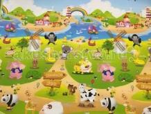 Игровой коврик BabyPol Веселая ферма №2 180х150х1 см 28151810