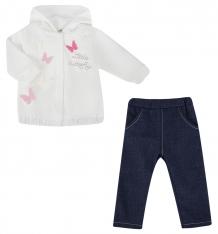 Купить комплект джемпер/брюки ewa mirella, цвет: бежевый ( id 5147557 )