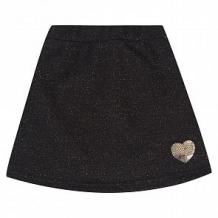 Купить юбка leader kids сердце, цвет: черный ( id 10761947 )