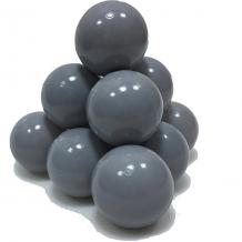 Купить шарики для сухого бассейна hotenok 50 шт, 7 см, серые 9633856