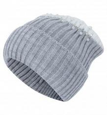 Купить шапка журавлик париж, цвет: серый ( id 10401008 )