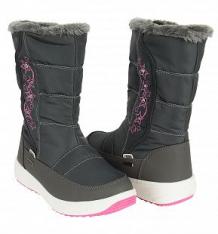 Купить сапоги twins, цвет: серый ( id 9736821 )