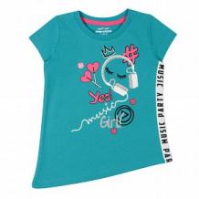 Купить футболка cherubino, цвет: бирюзовый ( id 12581104 )