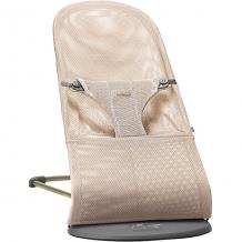 Купить кресло-шезлонг babybjorn bliss mesh, жемчужно-розовый ( id 11487713 )