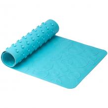 Купить антискользящий резиновый коврик для ванны roxy-kids, бирюзовый ( id 10734339 )