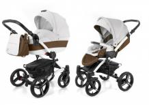 Купить коляска esspero tour leatherette 2 в 1 шасси white 7031311011