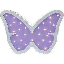 Купить светильник настенный ночной лучик «бабочка», фиолетовый ( id 12370862 )