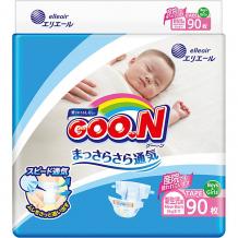 Купить подгузники goon nb 0-5 кг. 90 штук ( id 12435389 )