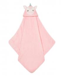"""Купить полотенце-уголок mothercare """"единорог"""", цвет: розовый mothercare 4239145"""