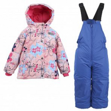 Купить комплект куртка/полукомбинезон salve, цвет: розовый/т.синий ( id 10675865 )