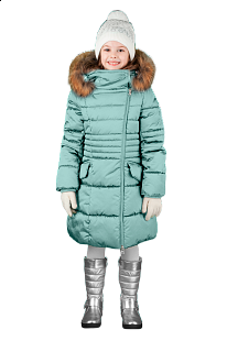 Купить пальто boom by orby, цвет: бирюзовый ( id 6149383 )
