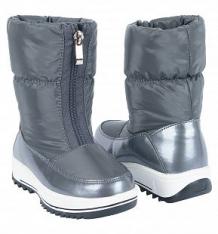 Купить сапоги twins, цвет: серый ( id 9781365 )