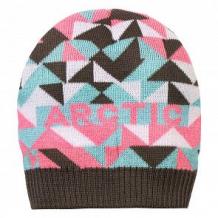 Купить шапка arctic kids, цвет: серый/розовый ( id 11308988 )