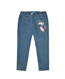 Купить брюки the hip!, цвет: синий/зеленый 9198259