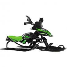 Купить снегокат-снегоход small rider scorpion solo, черно-зеленый ( id 13135811 )