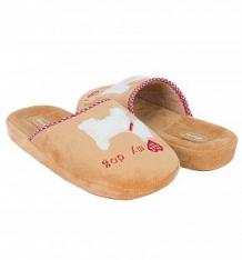 Купить тапочки forio, цвет: коричневый ( id 9600699 )