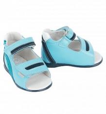 Купить сандалии скороход, цвет: голубой ( id 6381091 )