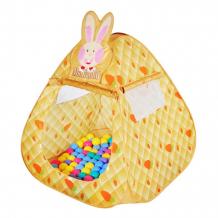 Купить babyone ching-ching дом + 100 шаров кролик cbh-12