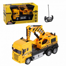 Купить autodrive грузовик-экскаватор на радиоуправлении 4 канала jb1167931