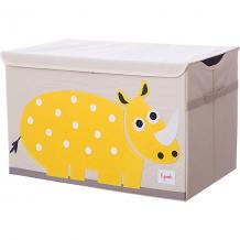 Купить сундук для хранения игрушек 3 sprouts жёлтый носорог 10826418