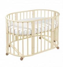 Кровать-трансформер Sweet Baby Delizia без маятника, цвет: слоновая кость ( ID 5745517 )