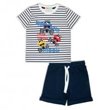 Купить комплект футболка/шорты me&we, цвет: синий ( id 11066900 )