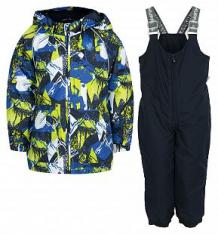 Купить комплект куртка/брюки huppa avery 1, цвет: синий ( id 6169687 )