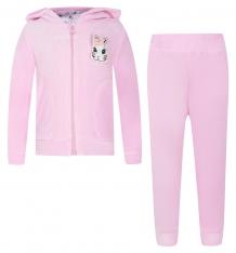 Купить комплект толстовка/брюки free age алиса, цвет: розовый 3758782