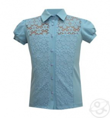 Купить блузка белый слон, цвет: голубой ( id 12773860 )