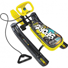 """Купить снегокат nika-kids """"тимка спорт 1"""" граффити, жёлтый 7221253"""