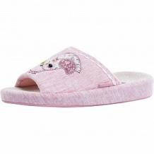 Купить тапочки котофей, цвет: розовый ( id 12050254 )