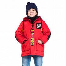 Купить куртка boom by orby, цвет: красный ( id 11116262 )
