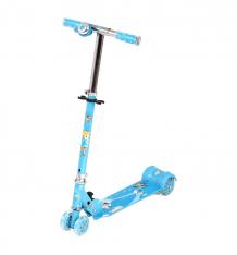 Купить самокат leader kids jc-200, цвет: синий 2731