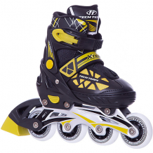 Купить роликовые коньки x-tech, желтые 8340670