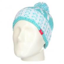 Купить шапка детская roxy fjordgirlbeanie blue radiance голубой,белый ( id 1158295 )