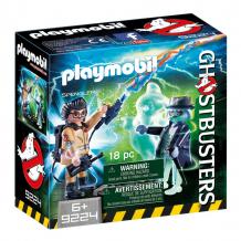 Купить конструктор playmobil охотники за привидениями: игон спенглер и привидение 9224pm