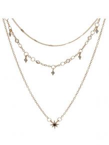 Купить star layered chain necklace ( id 442473701 )