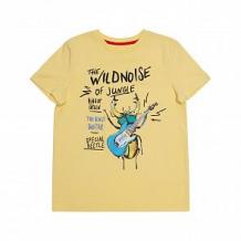 Купить футболка chinzari страны мира, цвет: желтый ( id 11641810 )
