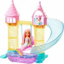 Купить игровой набор barbie замок русалочки челси 38 см ( id 10761026 )