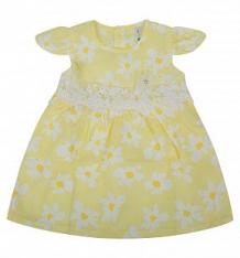Купить платье малинка, цвет: желтый ( id 10324202 )