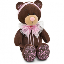Купить мягкая игрушка orange choco & milk мишка milk: розовый бант, 25 см ( id 8316913 )