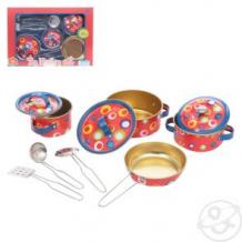 Купить набор посуды игруша для кукол (10 предметов) ( id 11763616 )
