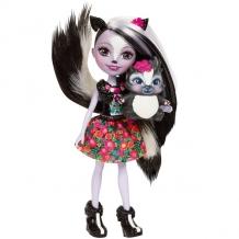 Купить mattel enchantimals dyc75 кукла седж скунси, 15 см