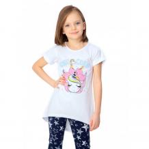 Купить веселый малыш туника с коротким рукавом для девочки красотка 362/17