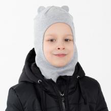 Купить hohloon шапка-шлем с ушками мишки и маленькой звездочкой шв20-85